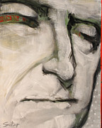 President Paintings - 3.  Thomas Jefferson by Cindy Suter