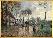 Camille Pissarro Posters - France, Ile De France, Paris, Muse Poster by Everett