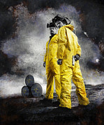 Breaking Framed Prints - Breaking Bad Framed Print by Ian Hufton