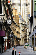 City View Photo Prints - London street Print by Elena Elisseeva