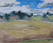 Field. Cloud Paintings - On The Begining Of May by Francois Fournier