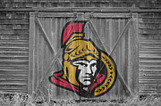 Hockey Prints - Ottawa Senators Print by Joe Hamilton