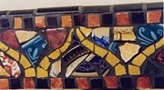 Mosaic Ceramics - Mosaic table top by Charles Lucas