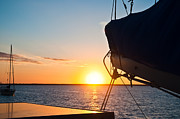Sailing Setting Sun by Katie Smith