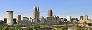 Awesome Prints - Cleveland Skyline Print by Robert Harmon