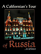 Paperback Cover Design Posters - A Californians Tour of Russia Poster by Candi Edie