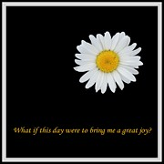 Affirmation Digital Art Posters - A Great Joy Poster by Barbara Griffin
