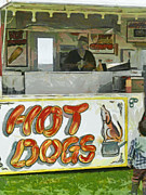 Gypsy Digital Art - A Hot Dog or Hot Chips? by Steve Taylor
