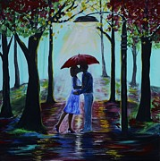 Pathway Paintings - A Love Everlasting by Leslie Allen