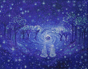 Dream Scape Prints - A Star Night Print by Ashleigh Dyan Bayer