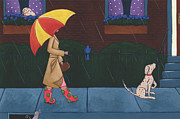 Christy Beckwith - A Walk on a Rainy Day