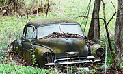 American Automobiles Originals - Abandoned 1949 Chevrolet by R David Johnson