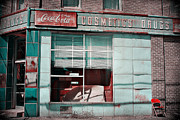 Abandoned Drug Store Print by DeeLusions Photography