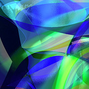 Abstract Greeting Cards Posters - Abstract 1003 Poster by Gerlinde Keating - Keating Associates Inc