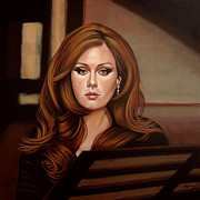 Paul Meijering Art - Adele by Paul Meijering
