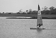 Suzanne Gaff - Afternoon Sailor II in Black and White