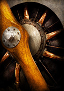 Steampunk Posters - Air - Pilot - You got props Poster by Mike Savad