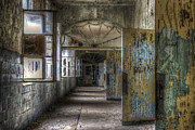 Abandoned  Digital Art - All opened by Nathan Wright