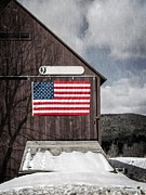 Edward Fielding - Americana Patriotic Barn