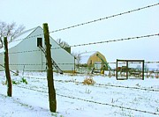 Julie Dant - Amish Farm in Winter
