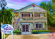 Gerry Robins Metal Prints - Amoray Dive Resort Metal Print by Gerry Robins