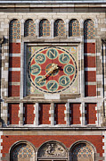 Wind Vane Photos - Amsterdam Central Train Station Weather Vane by Artur Bogacki