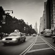 Analog Framed Prints - Analog Photography - New York 59th Street Framed Print by Alexander Voss