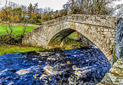 Packhorse Prints - Ancient Packhorse Bridge Print by Trevor Kersley