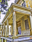 Nike Photo Prints - Angel Island State Park California - Officers Row Housing - San Francisco Bay Print by David Rigg