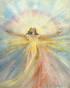 Manipura Prints - Angel of Possibilities Print by Joyce Huntington