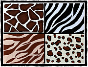 Barbara Griffin - Animal Patterns  - Zebra - Giraffe -...