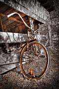 Debra and Dave Vanderlaan - Antique Bicycle