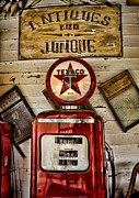 Wash Board Posters - Antiques and Junque Poster by Heather Applegate