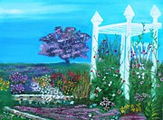 Arbor Paintings - Arbor On The Prairie  by D Kay