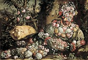 Interior Still Life Photo Metal Prints - Arcimboldo, Giuseppe 1527-1593. The Metal Print by Everett