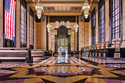 Union Station Lobby Framed Prints - Art Deco Great Hall #2 Framed Print by Nikolyn McDonald