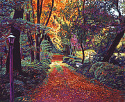 Pathway Paintings - Artists Walk by David Lloyd Glover