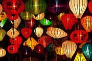 Fototrav Print - Asian Silk lanterns