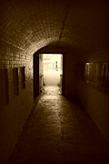 Marilyn Wilson - At the End of the Hall - sepia