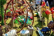 Cans Art - At The Flea Market by Bill  Wakeley