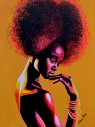 Glow Painting Originals - Ataui Deng by Shirl Theis