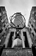 Nyc Prints - Atlas at the Rock Print by John Farnan