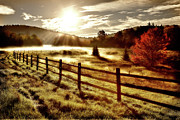 Dan Carmichael - Autumn Meadow Sunrise II - West Virginia