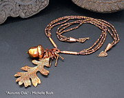 Forest Jewelry - Autumn Oak by Michelle Bush