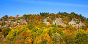 Autumn Scene Prints - Autumn Panorama Print by Lutz Baar