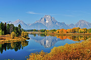 Greg Norrell - Autumn Reflections at Oxbow Bend