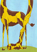 Christy Beckwith - Baby Giraffe Nursery Art