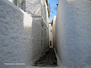 Hydra - Backstreet in Hydra by Alexandros Daskalakis