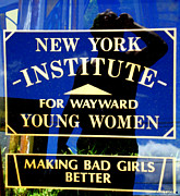 Wayward Prints - Bad Girls Print by Linda Galok