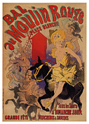 Jugendstil Prints - Bal Au Moulin Rouge Print by Nomad Art And  Design